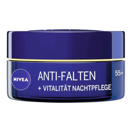 Nivea Anti-Falten + Vitalität Nachtpflege 55+ 50 ml