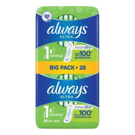 Always Ultra Binde Grösse 1 BIG PACK 28 Stück