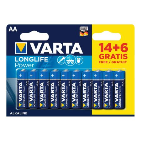 Varta Longlife Power AA 14+6 Stück