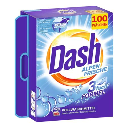 Dash Waschpulver Alpen Frische 100 Wäschen