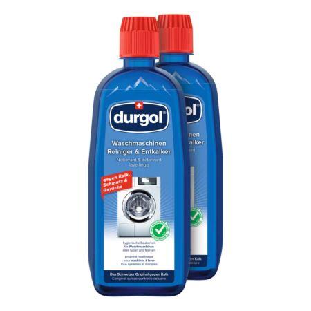 Durgol Waschmaschinen Reiniger & Entkalker 2 x 500 ml