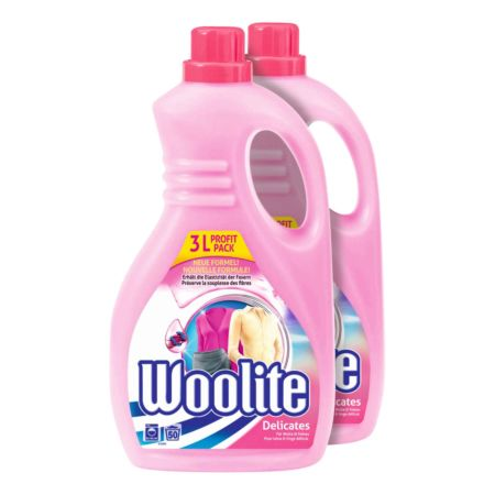 Woolite Delicates 2 x 3 Liter