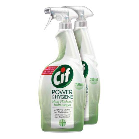 Cif Power & Hygiene 2 x 750 ml