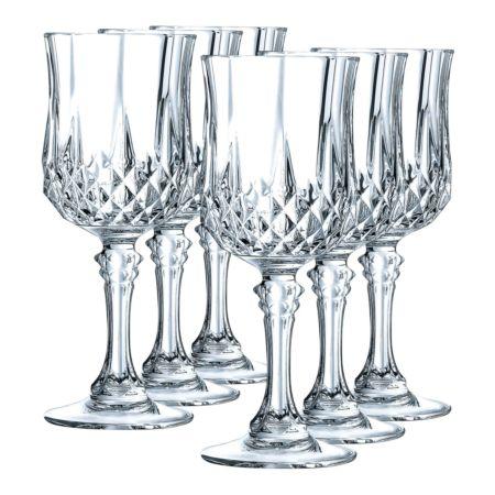 Cristal d'Arques Rotweinglas Longchamp 6 Stück 25 cl