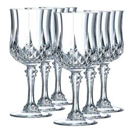 Cristal d'Arques Weissweinglas Longchamp 6 Stück 17cl