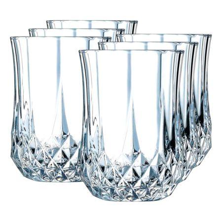 Cristal d'Arques Schnapsglas Longchamp 6 Stück 4.5 cl