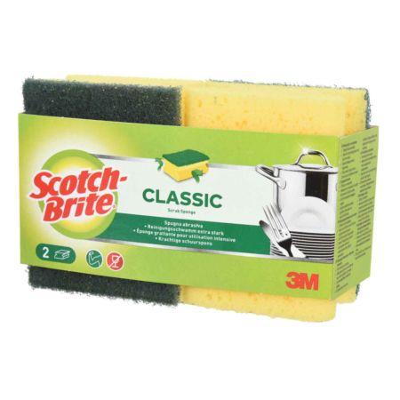 Scotch-Brite Classic Reinigungsschwamm extra stark 3M