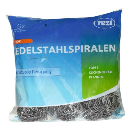 REZI Topfreiniger Edelstahl 9 Stück