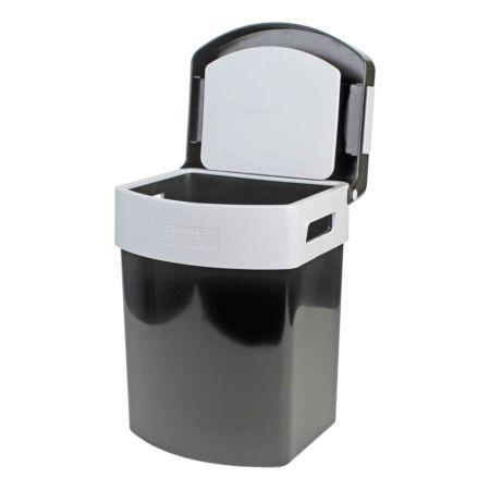 Abfalleimer Sparbox  35 L schwarz