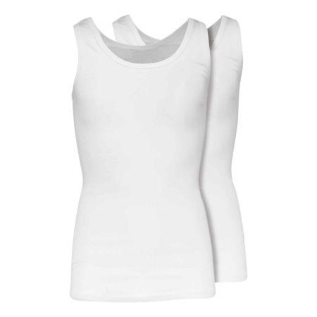 Adam Herren-Unterhemd, Bio-Baumwolle, 2er-Pack