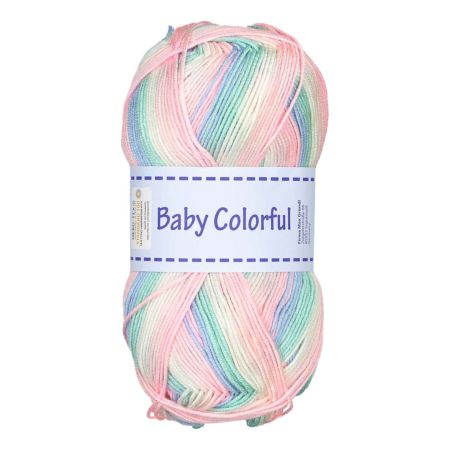 Gründl Garn Baby Colorful multicolor 100 g