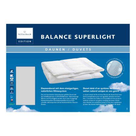 Billerbeck Daunenduvet Balance Superlight