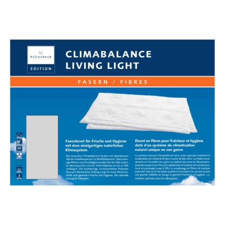 Climabalance Living Light, Faserduvet mit Klimazonen