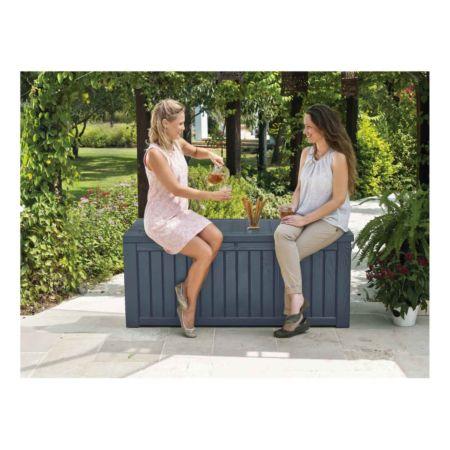 Gartenbox Keter Rockwood 570L, anthrazit