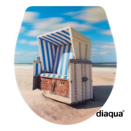WC-Sitz Nancy Slow-Motion, Beach Chair