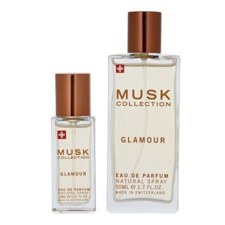 Musk Collection Glamour Eau de Parfum 50 ml + Mini 15 ml