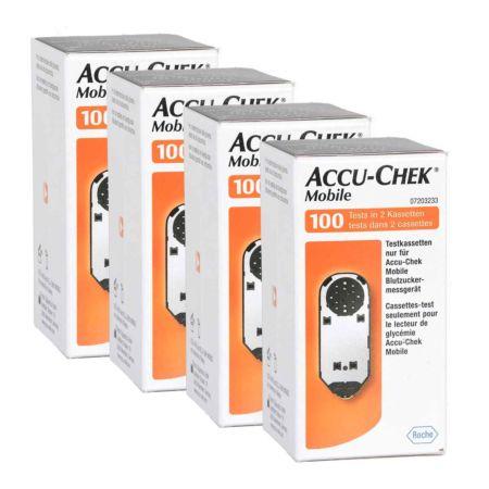 Roche Accu-Chek Mobile Teststreifen 4 x 100
