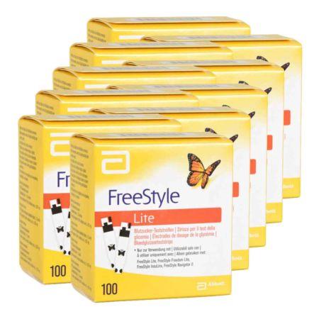 Abbott FreeStyle Lite Teststreifen 10 x 100 Stk.