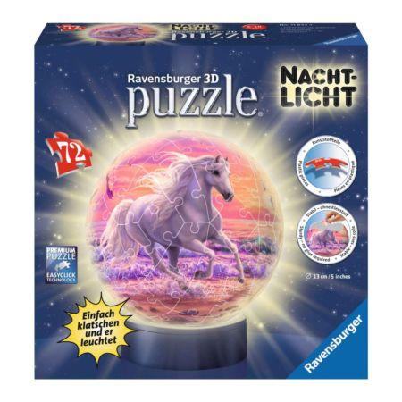 Ravensburger 3D Puzzle-Ball - Pferde am Strand