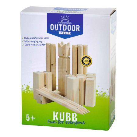 Kubb-Spiel aus Holz
