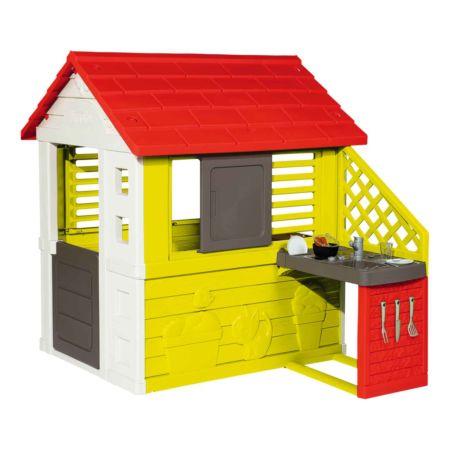 Smoby Spielhaus mit Küche, türkis