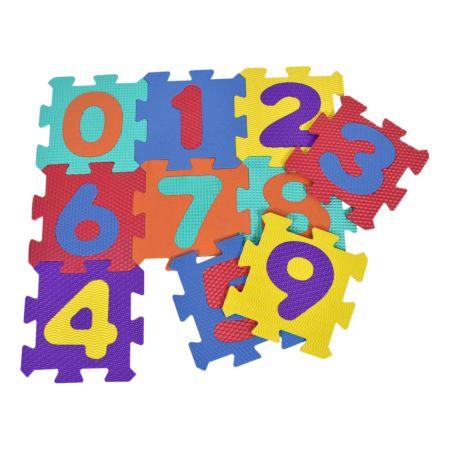 Puzzlematte Zahlen 10-teilig 30 x 30 cm
