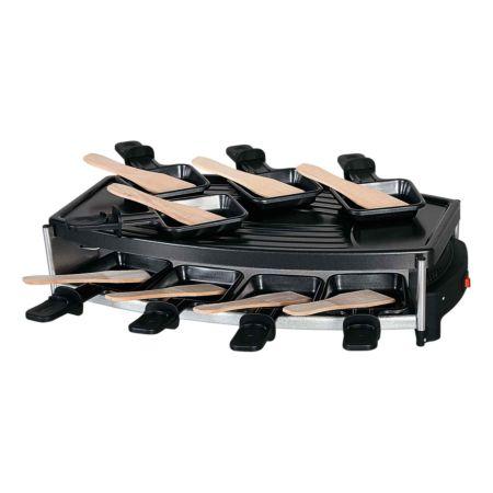 Nouvel Racletteofen, oval mit Alugrillplatte 18-teilig