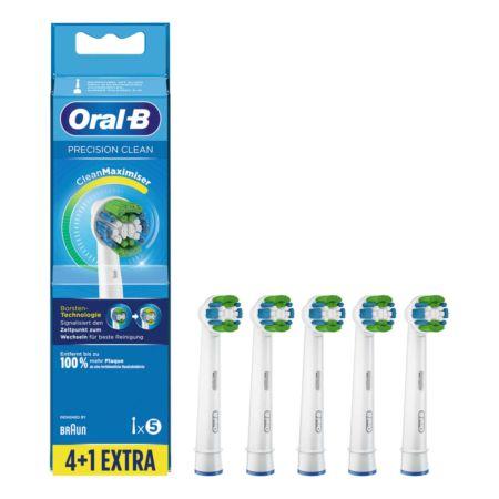 Oral-B Ersatzbürsten 4+1 Precision Clean
