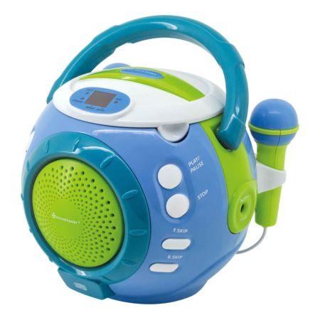 Soundmaster Kinder CD-Spieler KCD1600BL blau