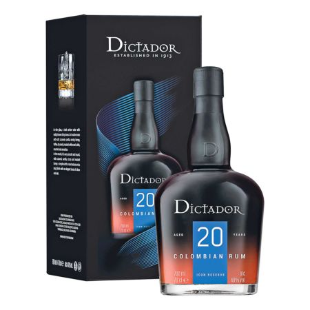 Rum Dictador 20 Years Old 70 cl