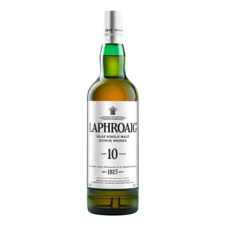 Laphroaig 10 Years Old Islay Single Malt Scotch Whisky 70 cl