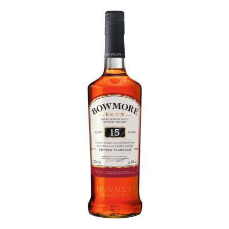 Bowmore 15 Years Old Darkest Islay Single Malt Scotch Whisky 70 cl