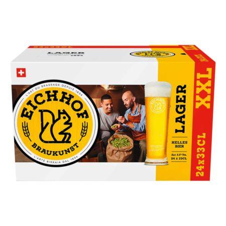 Eichhof Bier 24x33cl