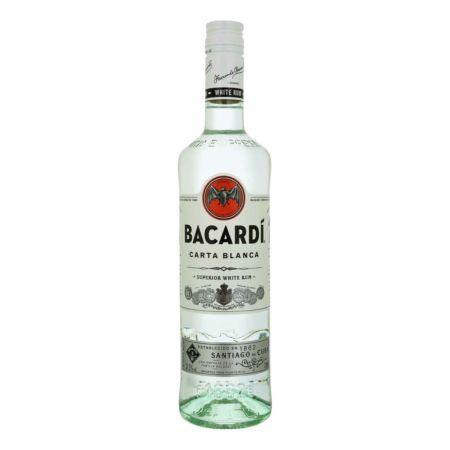 Bacardi Rum Carta Blanca 37.5% vol.  70 cl
