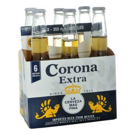 Corona Bier 6 x 35,5 cl Flasche