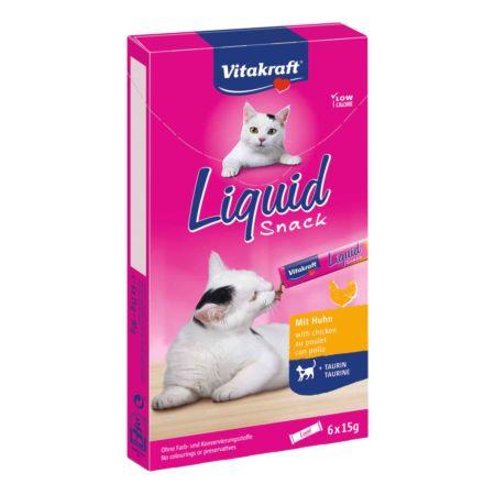 Cat Liquid Snack Hähnchen 6x15g