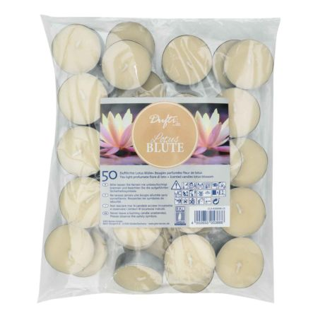 Dufti by Gies Duft-Teelichter Lotusblüte