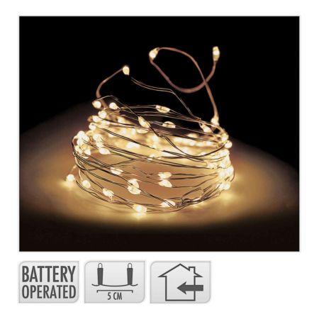 Lichterkette 40 LED indoor transparent