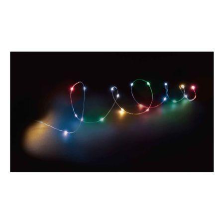 Lichterkette 40 LED indoor Stern multicolor