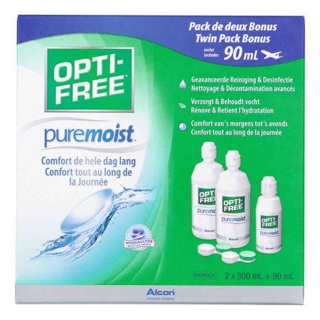 OptiFree PureMoist Reinigung 2x 300 ml