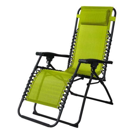 Relaxstuhl Bergamo grün