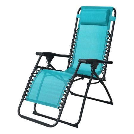 Relaxstuhl Bergamo blau
