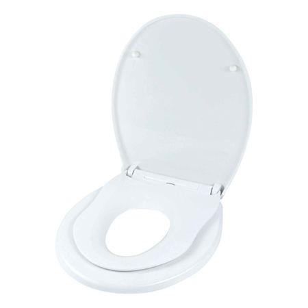 Kinder WC-Sitz Tino, Slow Down, weiss