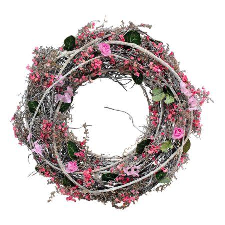 Kranz mit Blumen 26cm