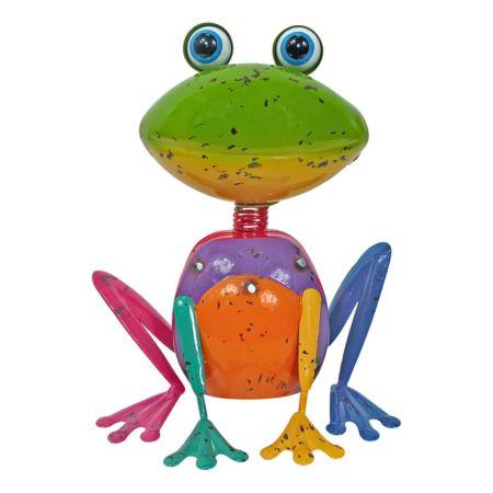 Deko-Figur Frosch 16 x 11.5 x 18.5 cm