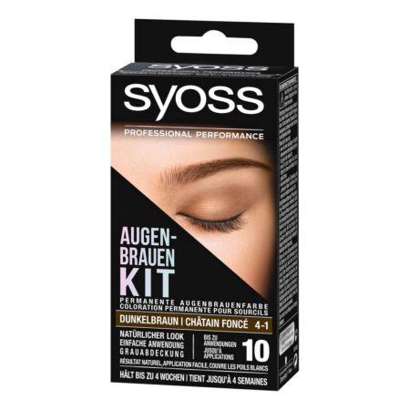 Syoss Augenbrauen Kit Dunkelbraun 4-1 10 ml