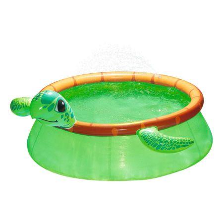 Splash-Kinderpool Schildkröte