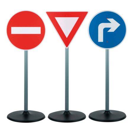 Verkehrsschilder Spiel-Set 3 Stück