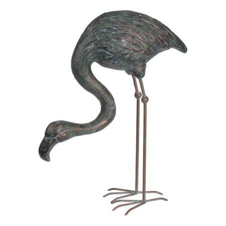 Deko-Figur Flamingo 45.5 x 19 x 54.5 cm