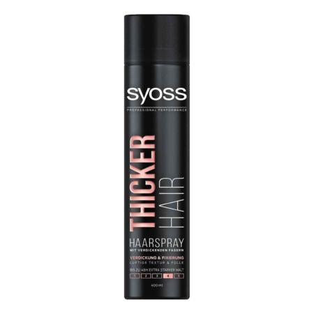Syoss Hairspray Thicker Hair